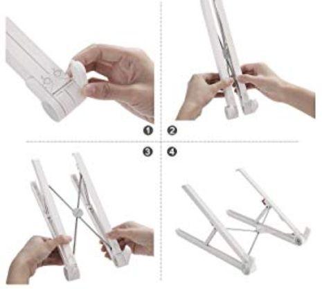 折り畳み方の説明