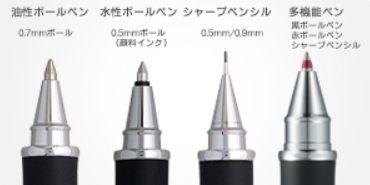 ペンの種類