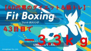 43日目_FitBoxing